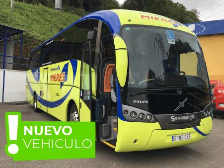 autobuses de autoescuela Mieres