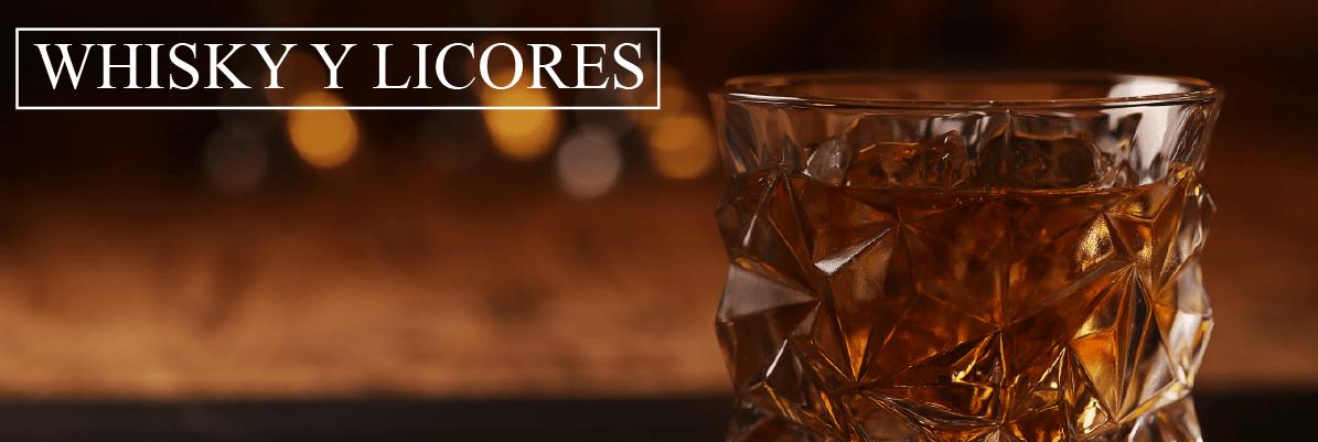 Whiskys y licores en Almacenes Santa Isabel