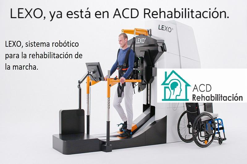 Lexo, Sistema robótico de rehabilitación de la marcha.