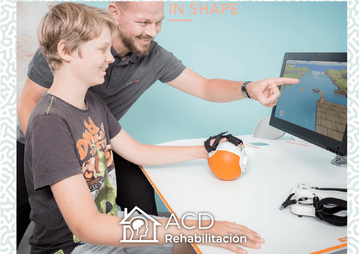 Sensores de movimiento para rehabilitación neurológica infantil