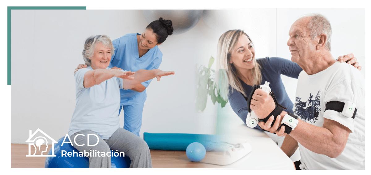 rehabilitación neurológica de personas mayores